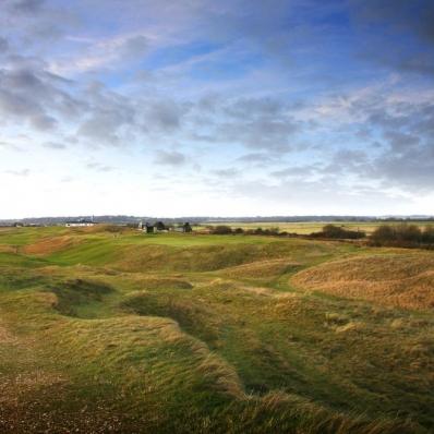 The 5th hole at Rye Golf Club.
