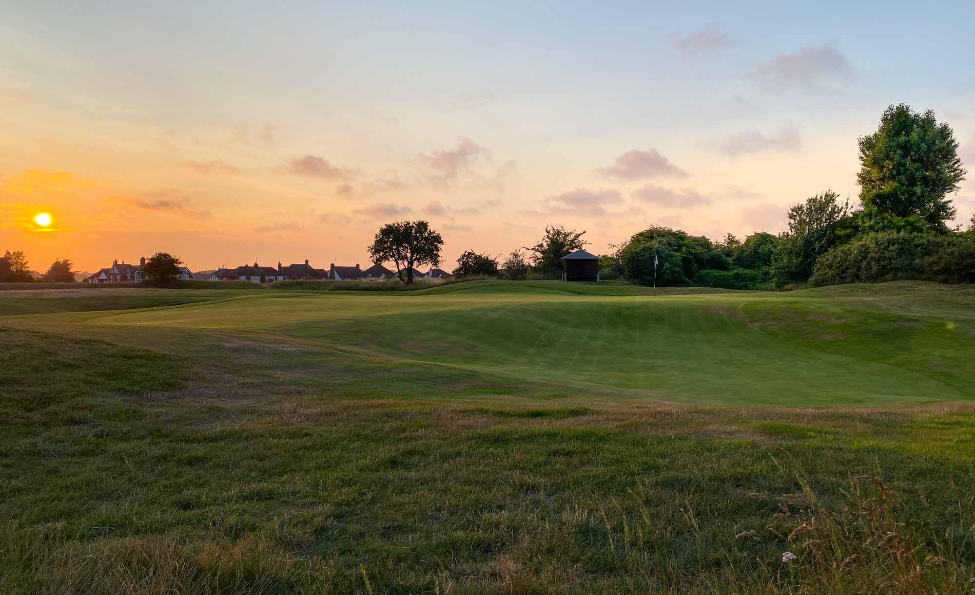 Seacroft Golf Club 16th Green Punchbowl