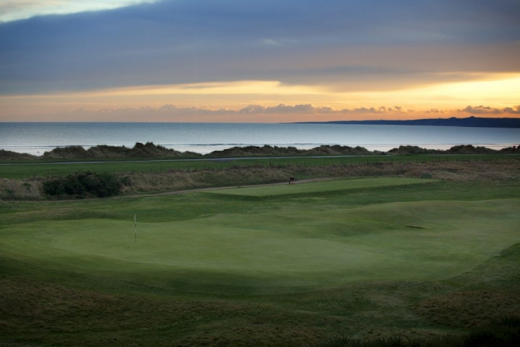 The North Sea from St Andrews Jubilee Course.