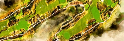 St Andrews Old Course Art_Close Up