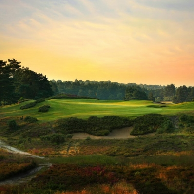 The 5th hole at SUNNINGDALE GOLF CLUB NEW Course.