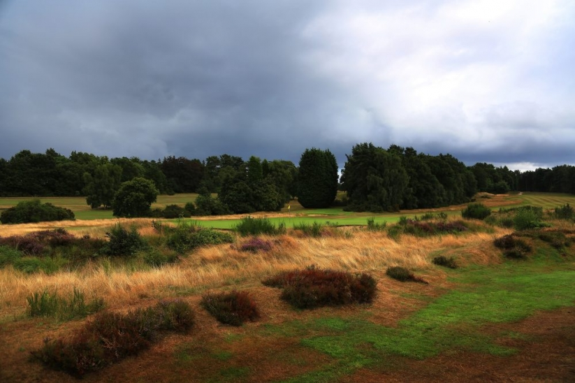 The 17th hole at Sunningdale Golf Club Old Course.