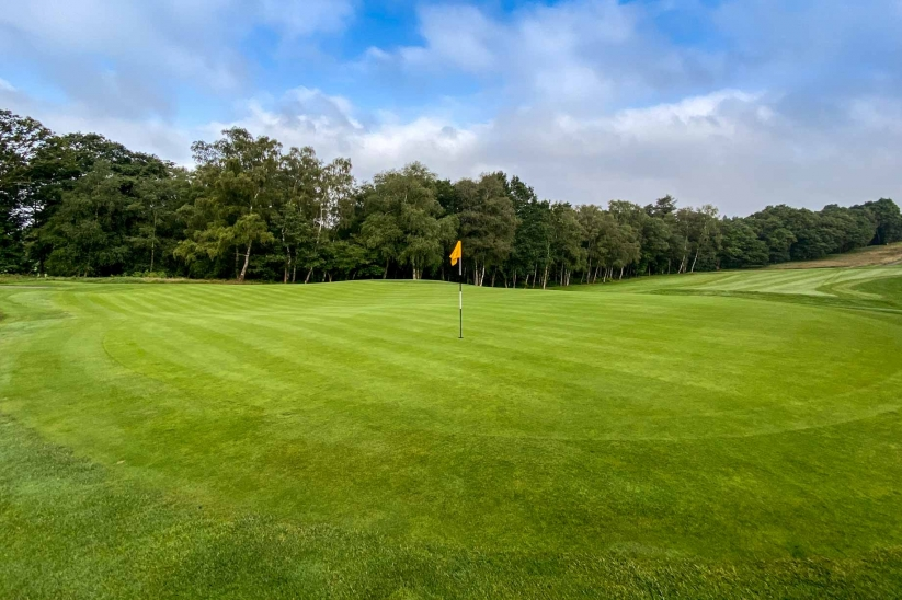 Tiered Punchbowl Green Hole 5 Wentworth Club East Course Harry Colt