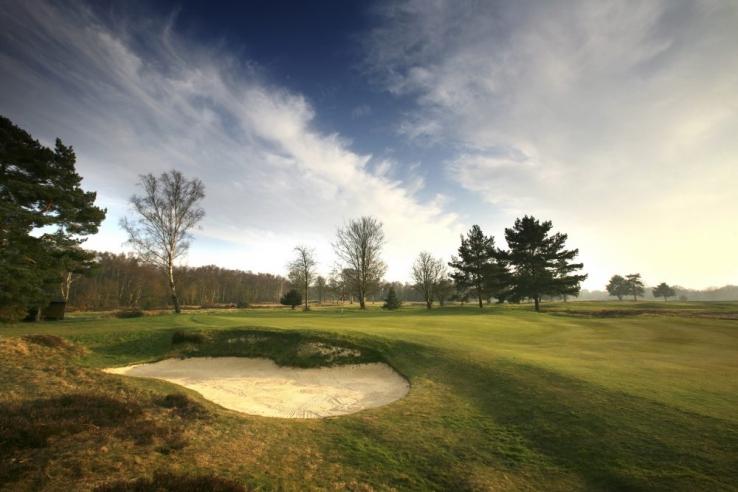 The 15th hole at Walton Heath New Course.