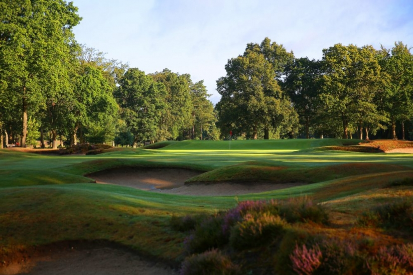 The West Hill GC in Surrey, England.
