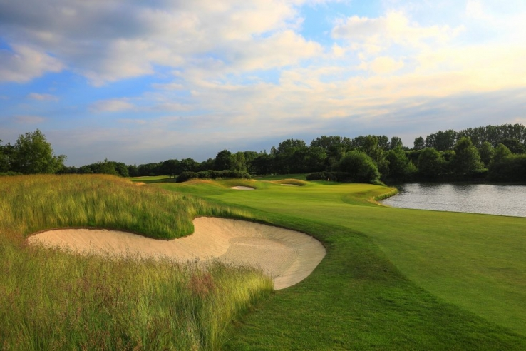 Sand and water are two features at The Wisley.