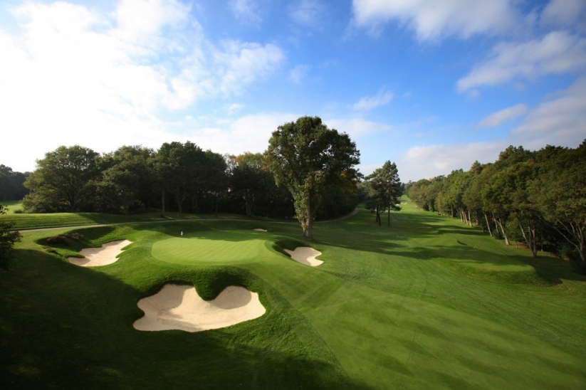 The 2nd hole on the West Course at Wentworth.