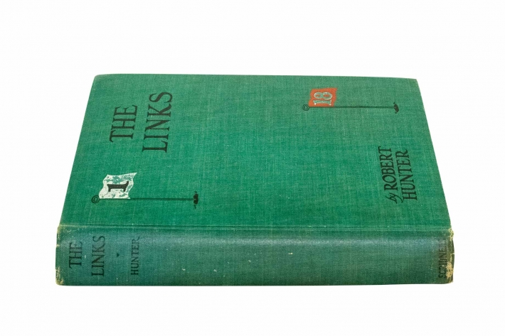 A photo of the book The Links by Robert Hunter.