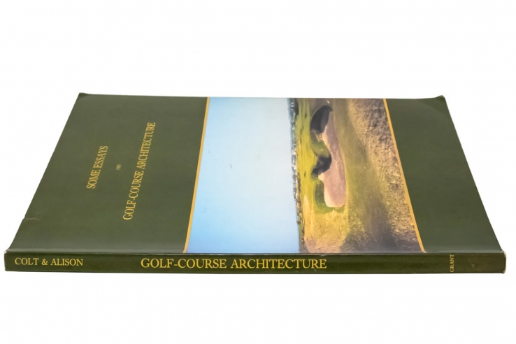 A photo of the reprint for Some Essays on Golf-Course Architecture.