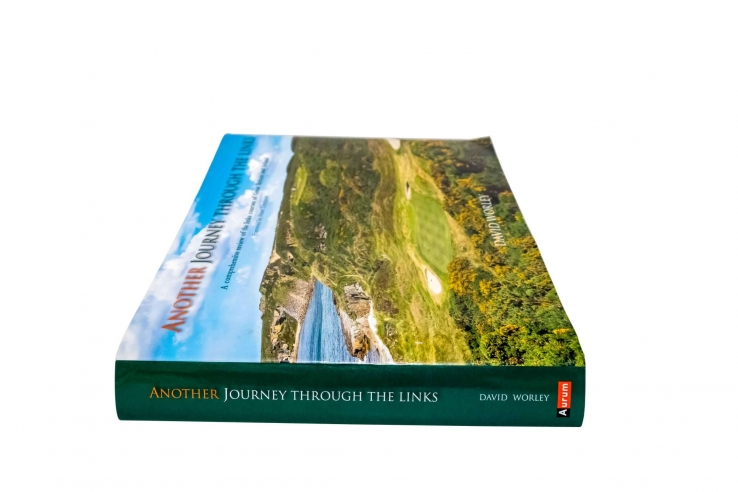 A photo of the book Another Journey Through the Links by David Worley.