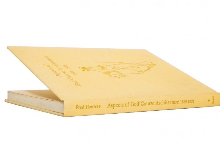 A photo of the cover of the book Aspects of Golf Architecture 1889 1924 Volume 1 One.