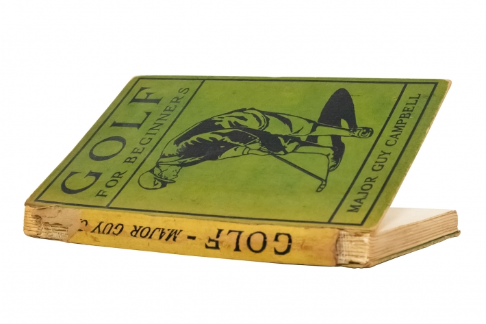 A photo of the book Golf For Beginners by Major Sir Guy Campbell.