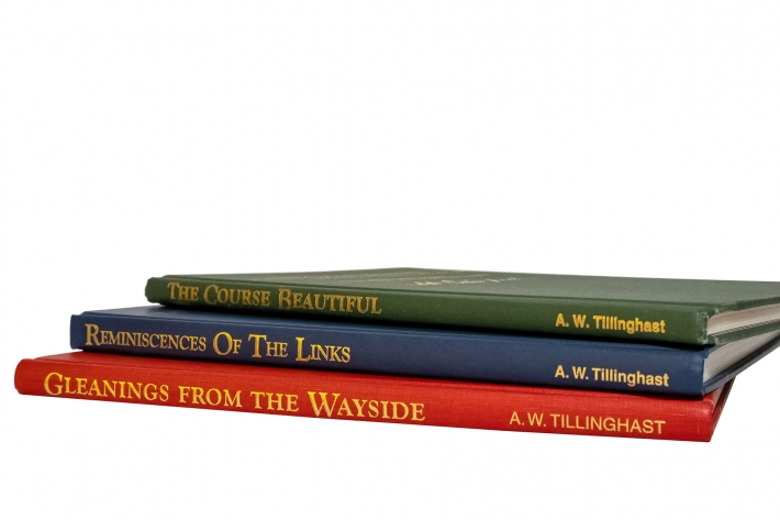 The collection of books from QW Tillinghast.