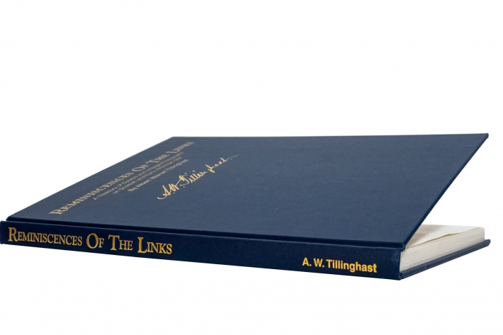 A photo of the book Reminiscences of the Links by AW Tillinghast.