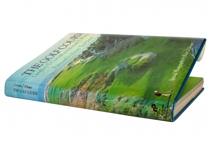 A photo of the book The Golf Course by Cornish and Whitten.