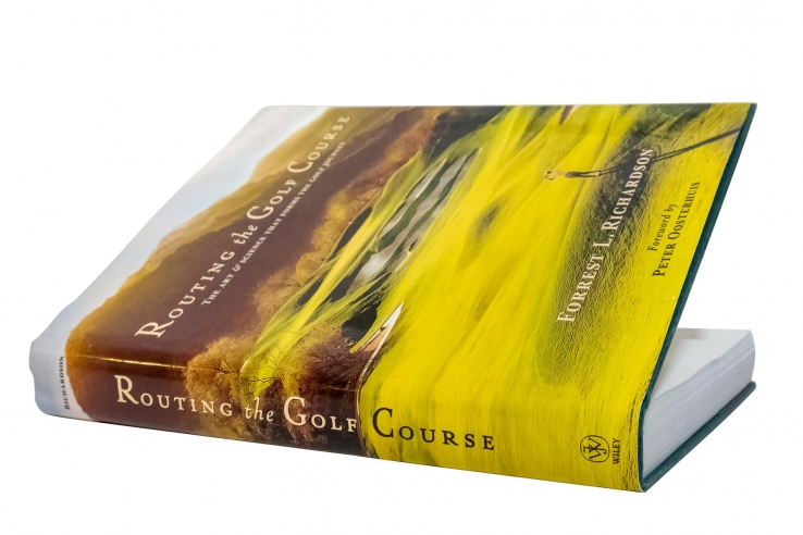 A photo of the book Routing the Golf Course: The Art & Science That Forms the Golf Journey.