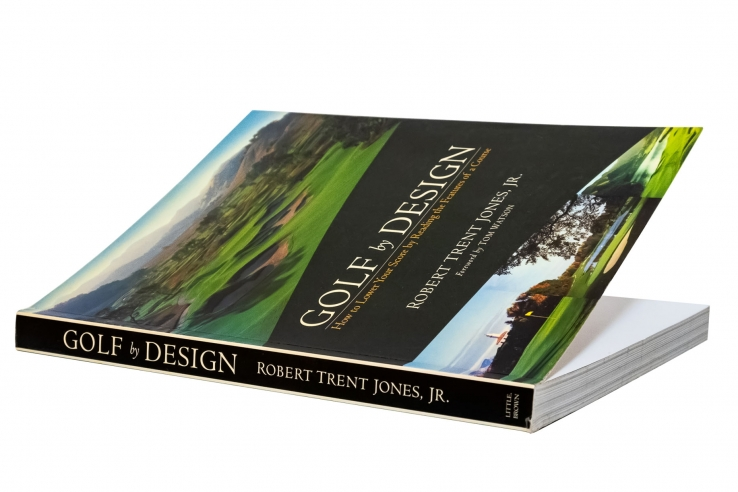 A photo of the book Golf By Design by Robert Trent Jones Jr.