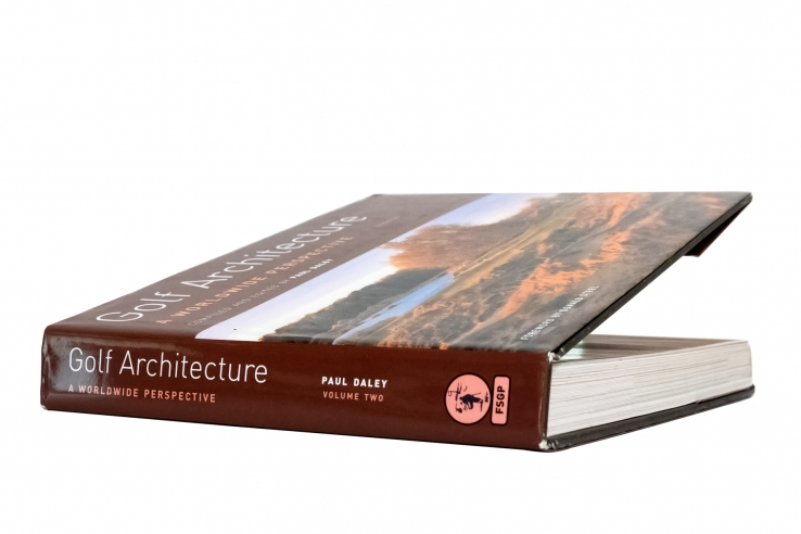 A photo of the book Golf Architecture: A Worldwide Perspective Vol. 2.