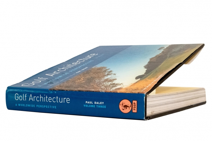 A photo of the book Golf Architecture: A Worldwide Perspective Vol. 3.