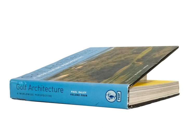 A photo of the book Golf Architecture: A Worldwide Perspective Vol. 4.