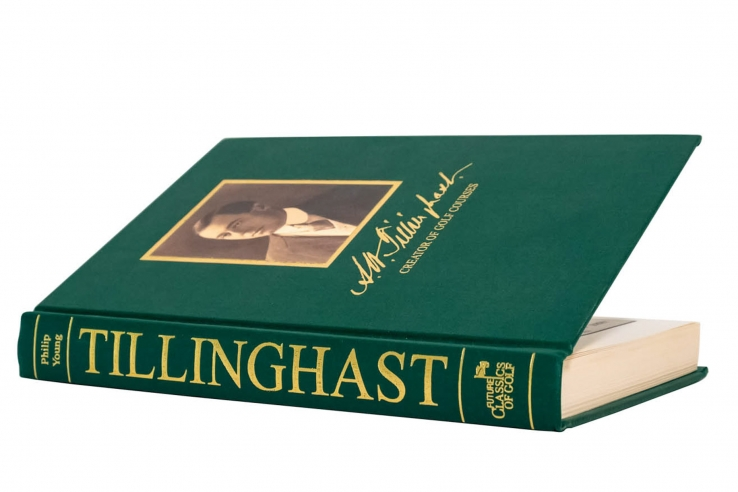 A photo of the book Tillinghast: Creator of Golf Courses by Philip Young.
