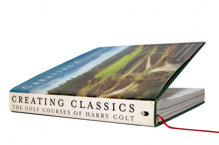 A photo of the book Creating Classics: The Golf Courses of Harry Colt.