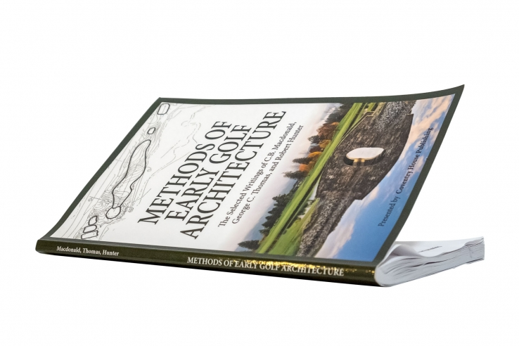 A photo of the book Methods of Early Golf Architecture.