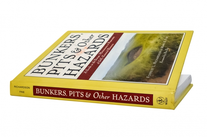 A photo of the cover of the book Bunkers Pits & Other Hazards.