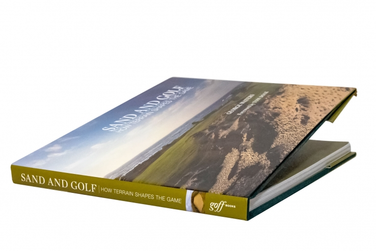 The cover of the book Sand and Golf.