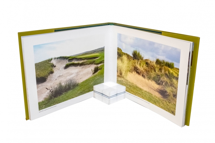 A photo of the book Sand and Golf - How Terrain Shapes The Game.