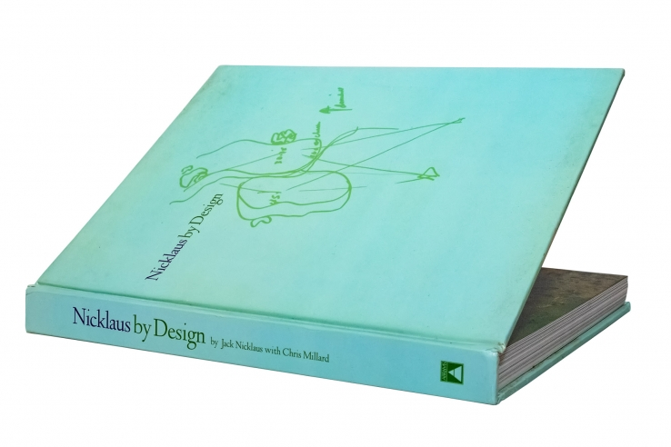 A photo of the book Nicklaus by Design.