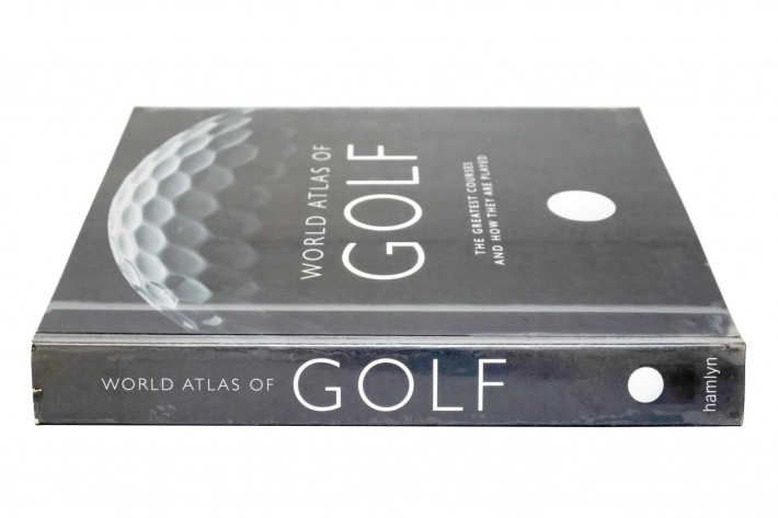 A photo of the book World Atlas of Golf Book.