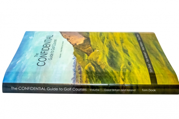 A photo of the Confidential Guide Volume 1 One Great Britain Ireland by Tom Doak.