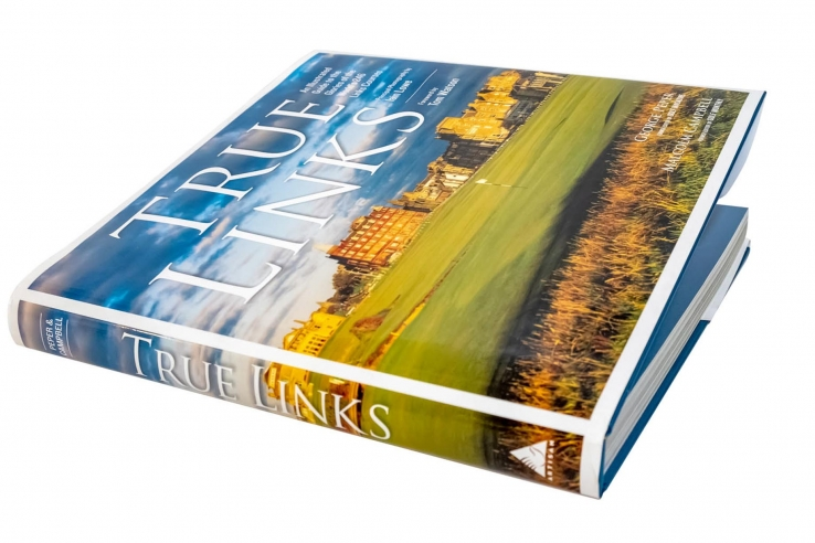 A photo of the book True Links by George Peper.