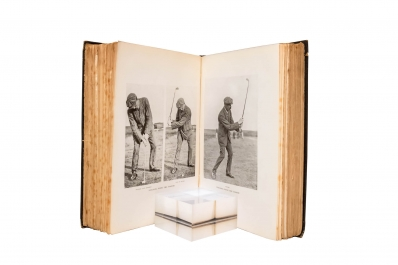 Advanced Golf by James Braid illustrations.