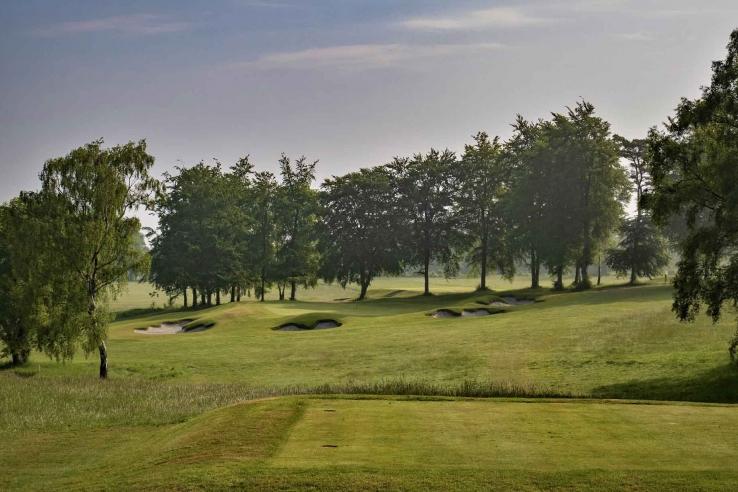 The Harry Colt design at Effingham Golf Club.