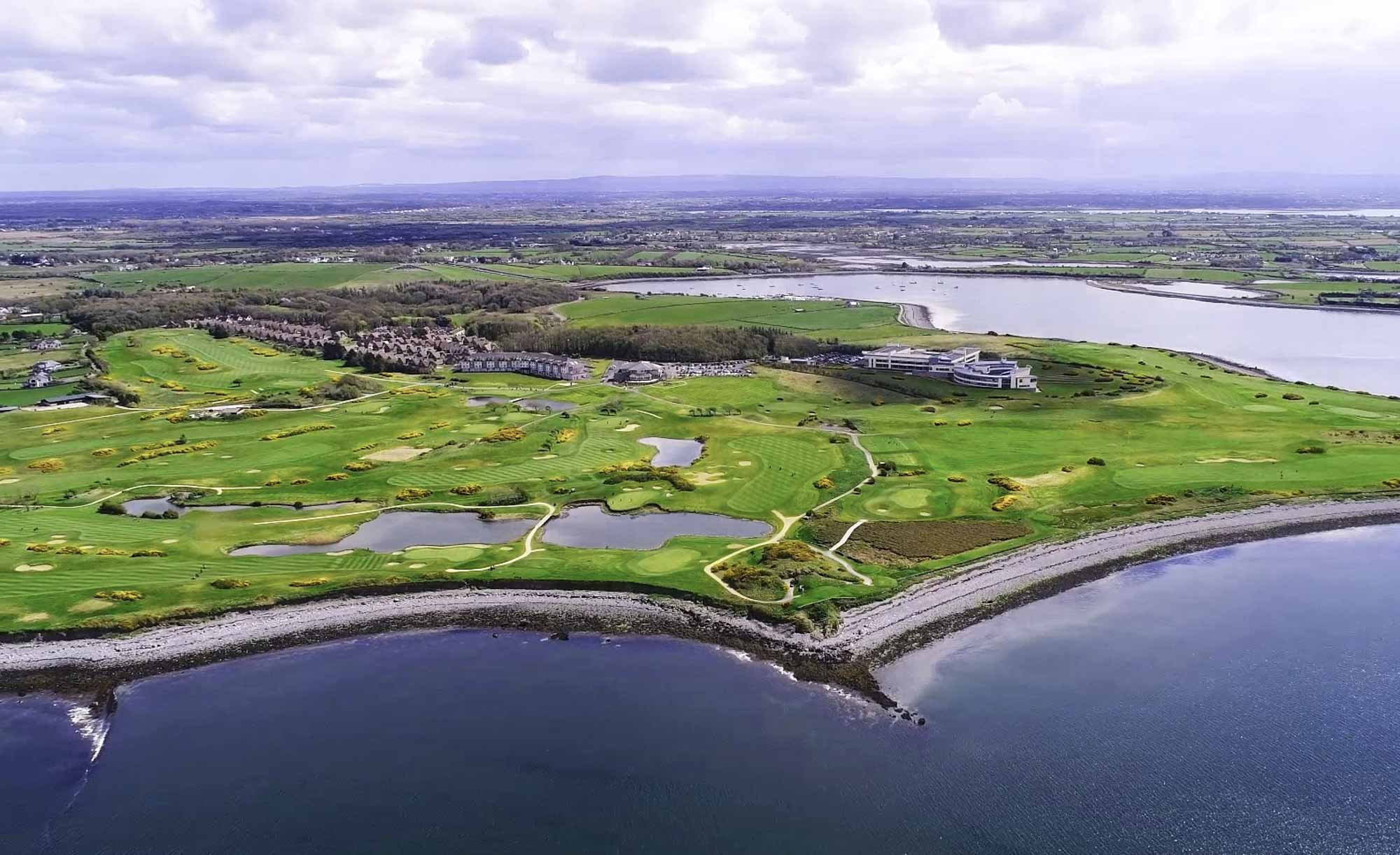 Galway Bay Resort Golf is a surrounded on three sides by the Atlantic.