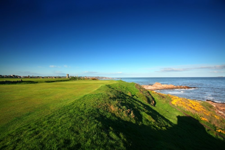 The Old Tom Morris links known as Anstruther Golf Club.