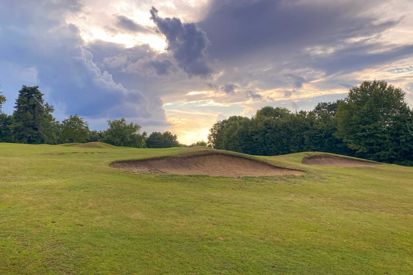 Visually stunning layered greens and approaches from Harry Colt.
