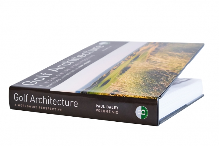 A photo of the book Golf Architecture: A Worldwide Perspective Vol. 6.