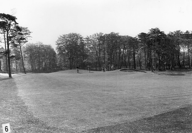A photo of the Sixth green at Cavendish Golf Club in England. Part of Evalu18's article Alister MacKenzie Augusta Cavendish.