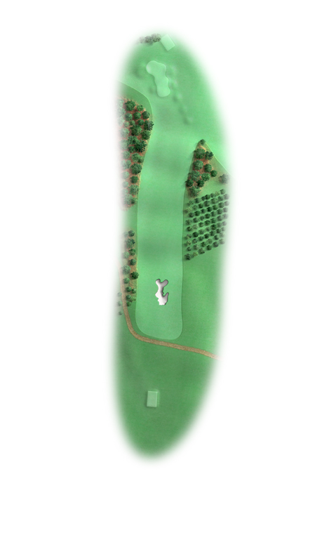 Hole 8 (17) at Augusta National Alister MacKenzie original design.