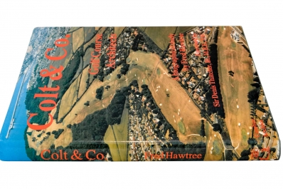 The dust jacket cover of the book Colt & Co by Fred Hawtree.