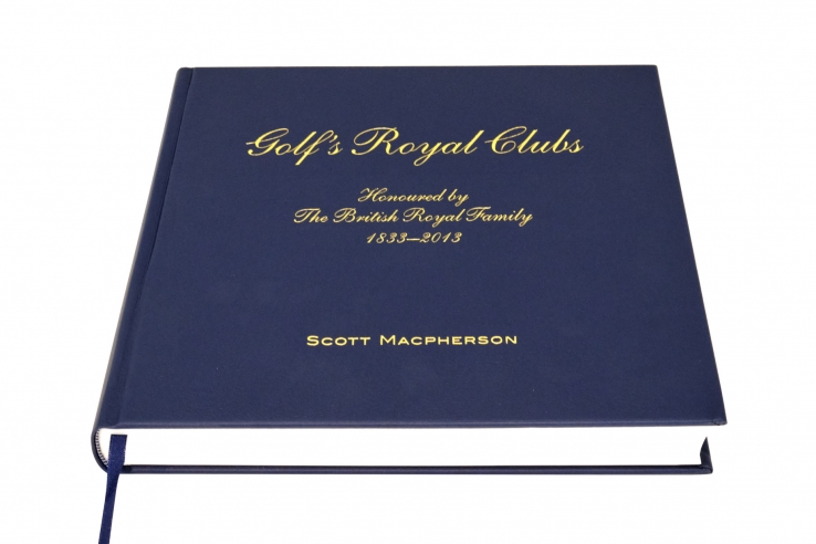 A photo of the book, Golf's Royal Clubs by Scott Macpherson.