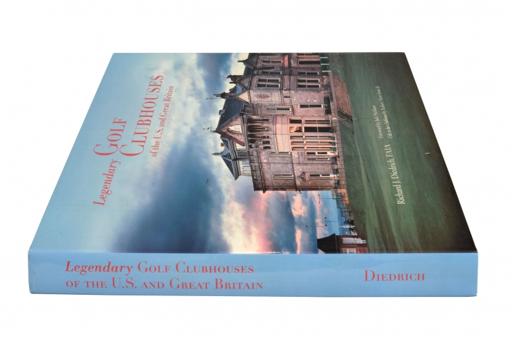 A photo of the large book: Legendary Clubhouses.