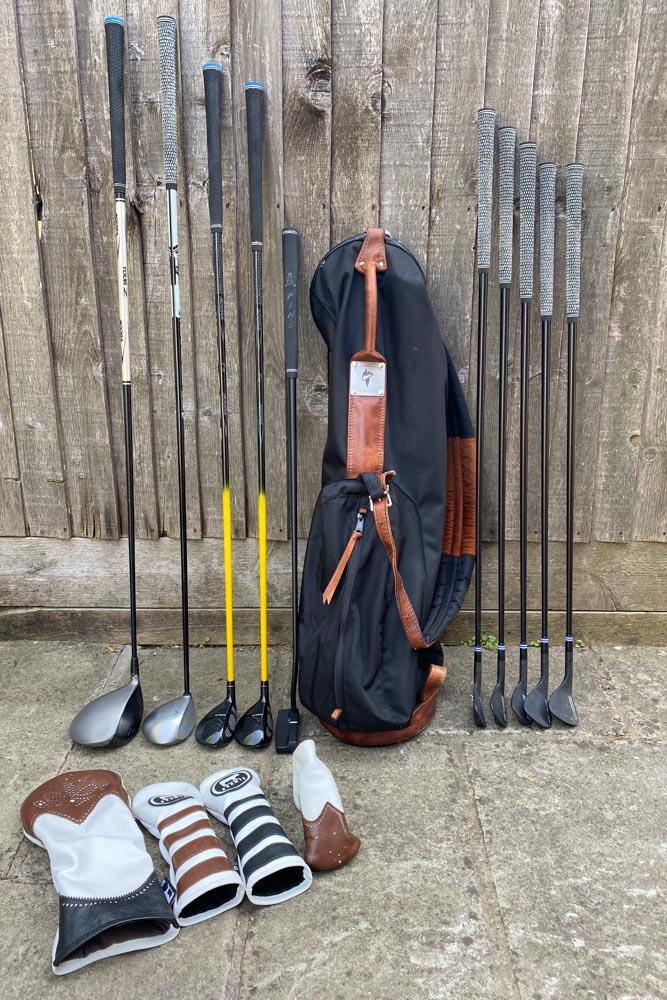 The current Sunday Bag <14 setup.