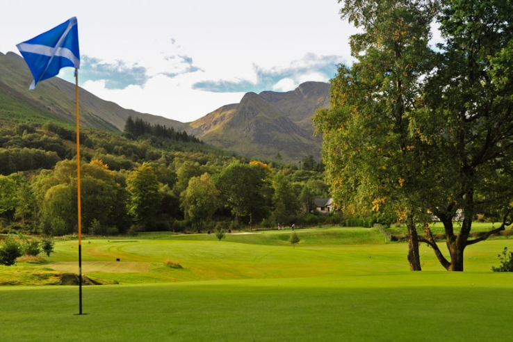The 5th hole at Dragon's Tooth Golf Club.