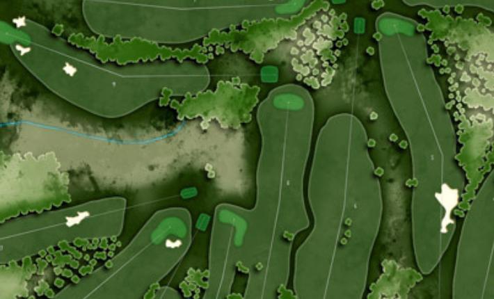 The 1932 Augusta National Golf Club.