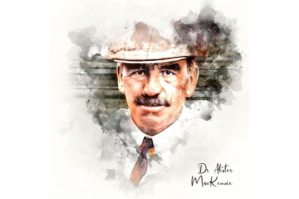 Dr Alister MacKenzie Fine Art Print