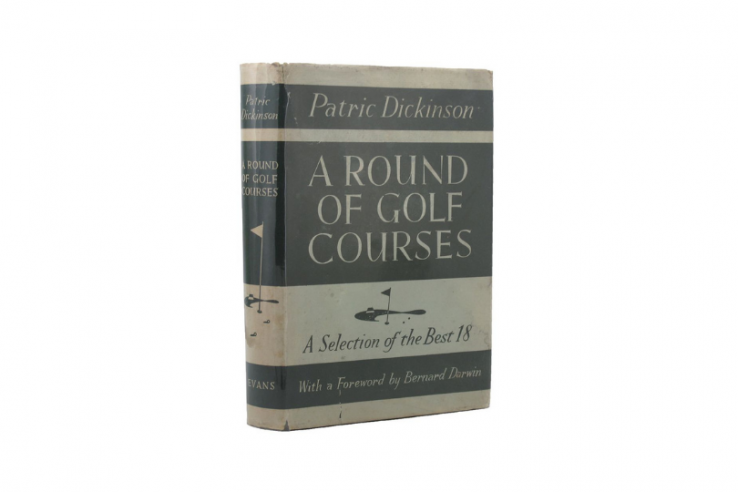 A photo of the book: A Round of Golf Courses by Patric Dickinson.